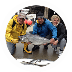 If you're thinking of salmon fishing, overnight & multi-day trips are popular options