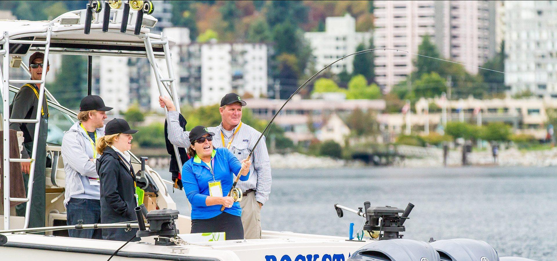 Salmon Charter Fishing Vancouver